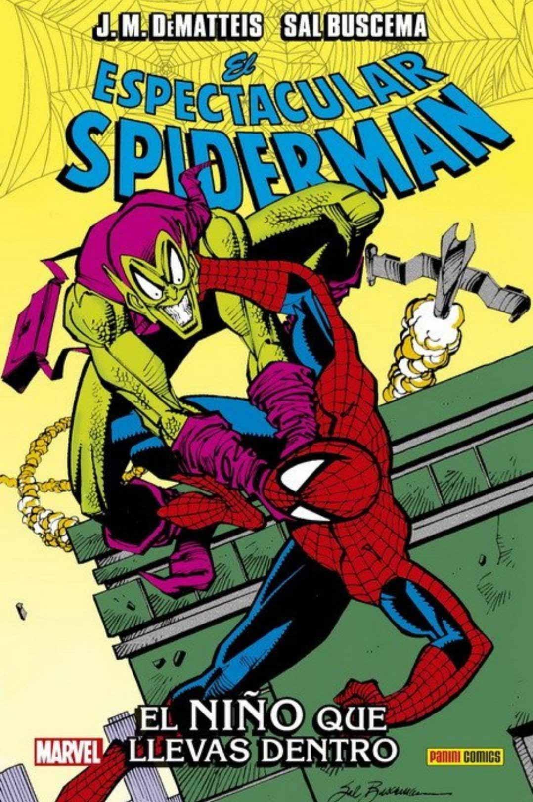 El Espectacular Spider-Man. El niño que llevas dentro portada