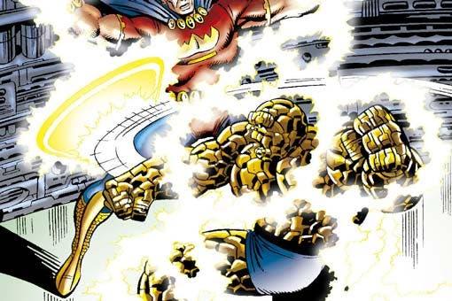Marvel: La cosa: la saga del proyecto pegaso