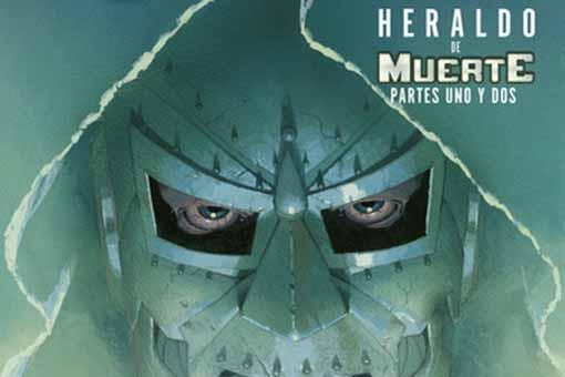 Los Cuatro Fantásticos nº 7. Heraldo de Muerte. Dest