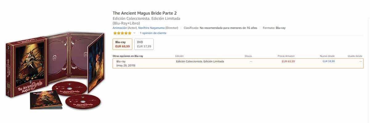 The Ancient Magus Bride blu-ray