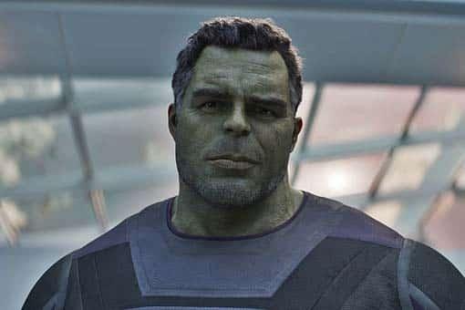 Mark Ruffalo. Marvel Vengadores: endgame hulk