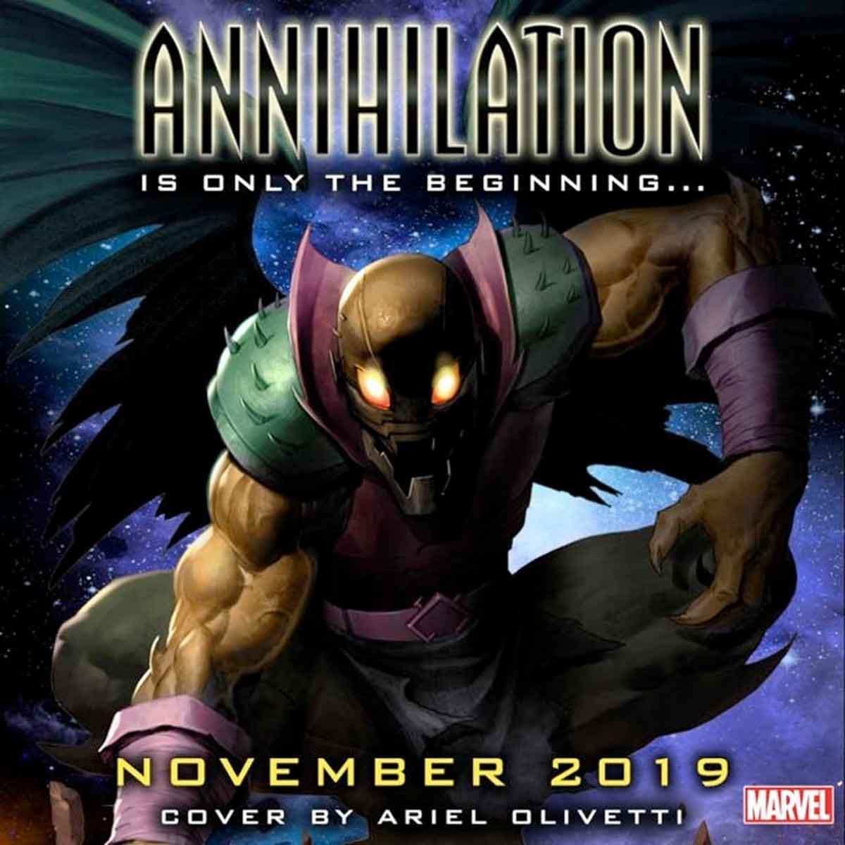 Aniquilación (Annihilation) es el próximo gran evento de Marvel