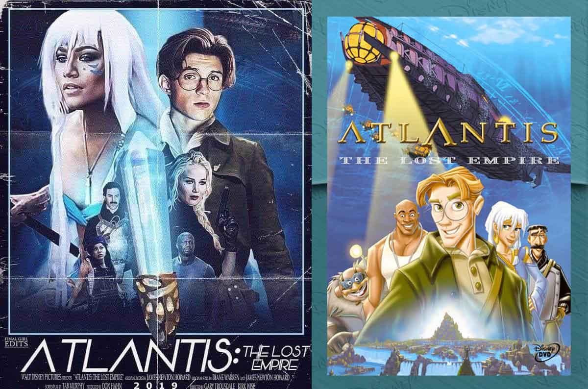 Tom Holland podría protagonizar Atlantis: El imperio perdido de acción real