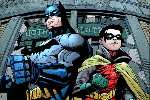 La conversación más extraña entre Batman y su hijo Damian