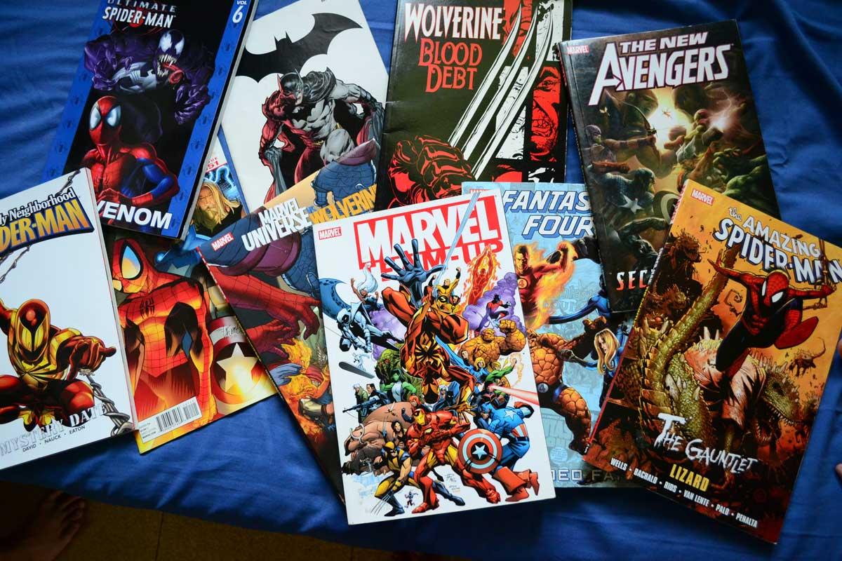 book dc fiction anime marvel-comics-superhero novels comic book