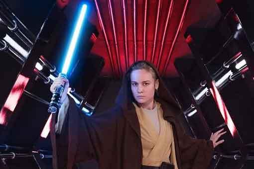 Brie Larson quiere ser una Jedi en una película de Star Wars