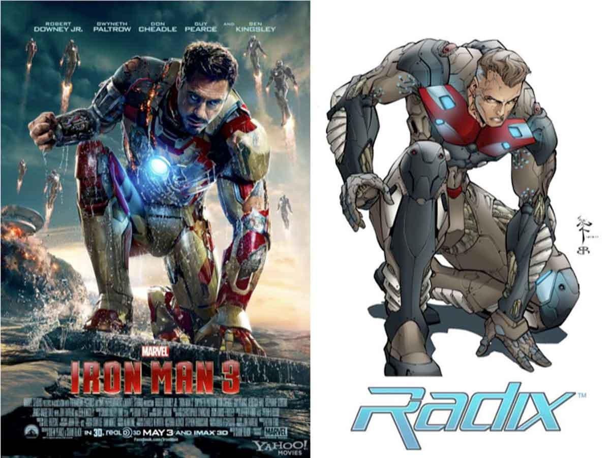 Marvel gana la demanda por copiar el póster de Iron Man 3