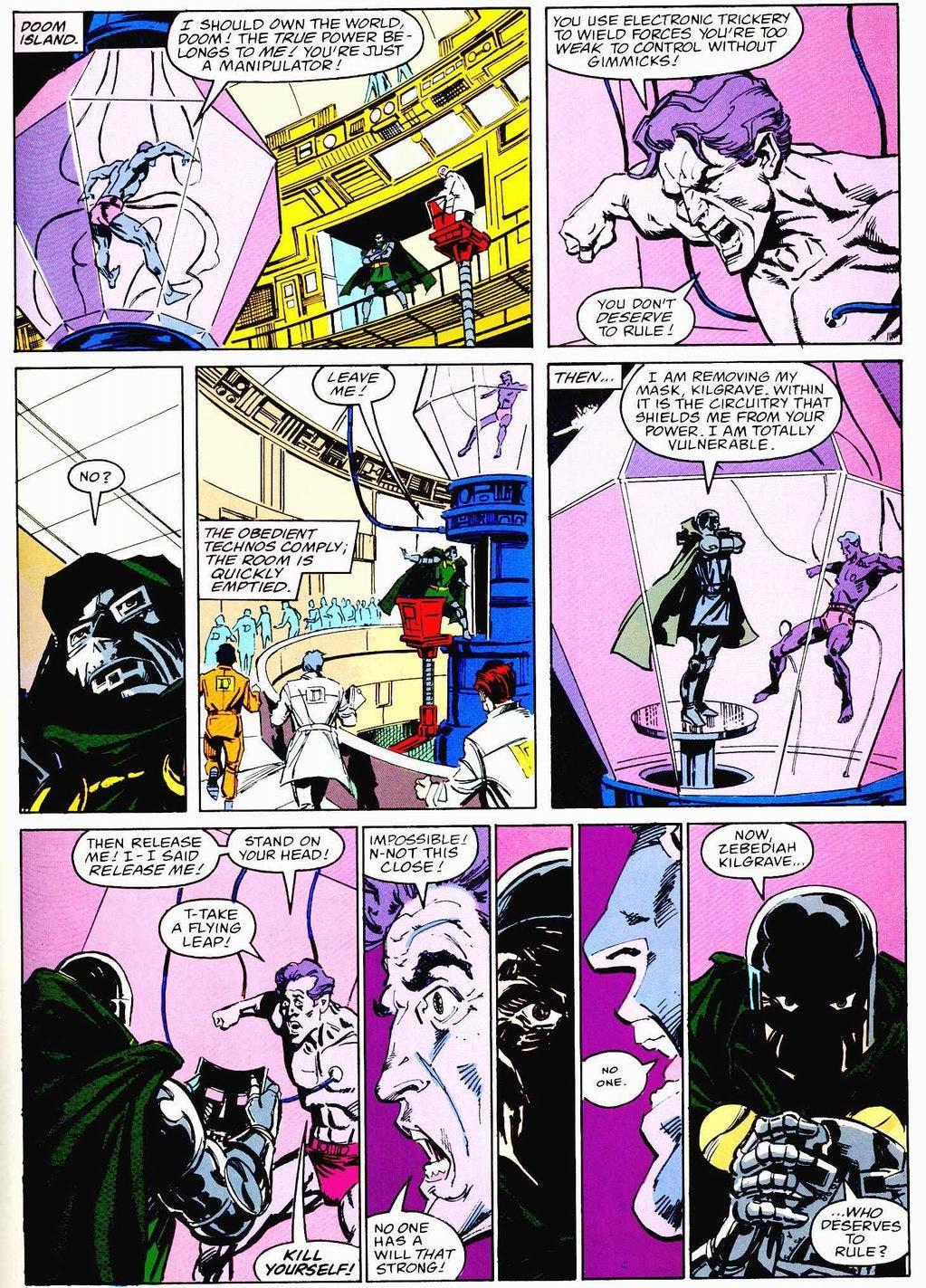 doctor Doom Kilgrave