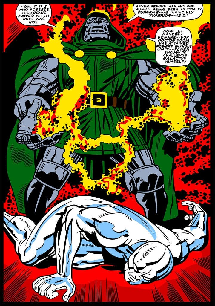doctor doom silver surfer