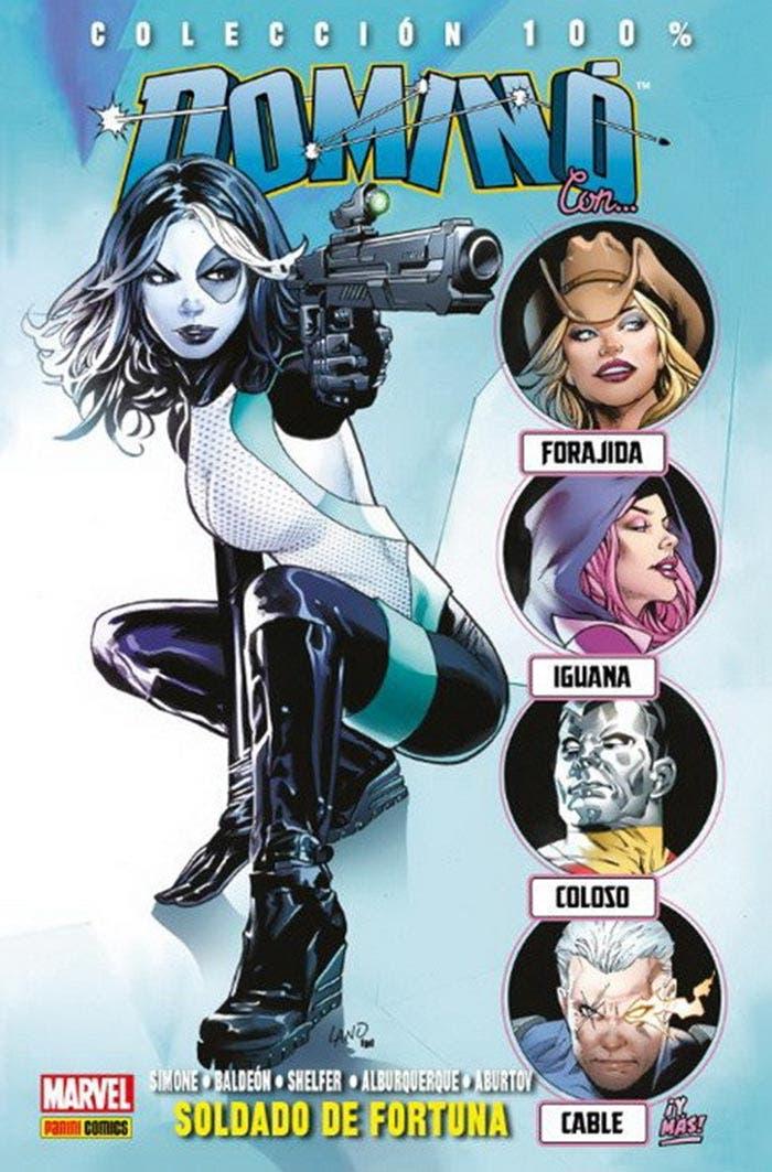 Dominó: Soldado de fortuna (Marvel - Panini Cómics)