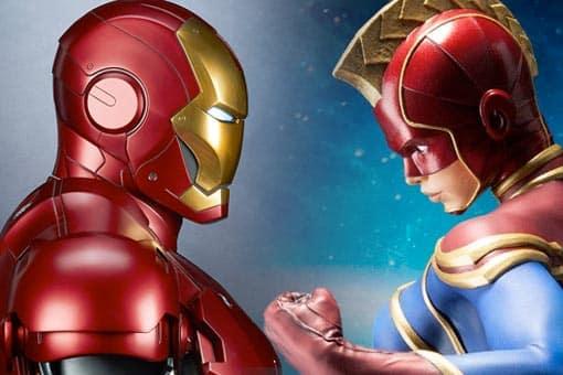 Así encontró Capitana Marvel a Iron Man en Vengadores: Endgame