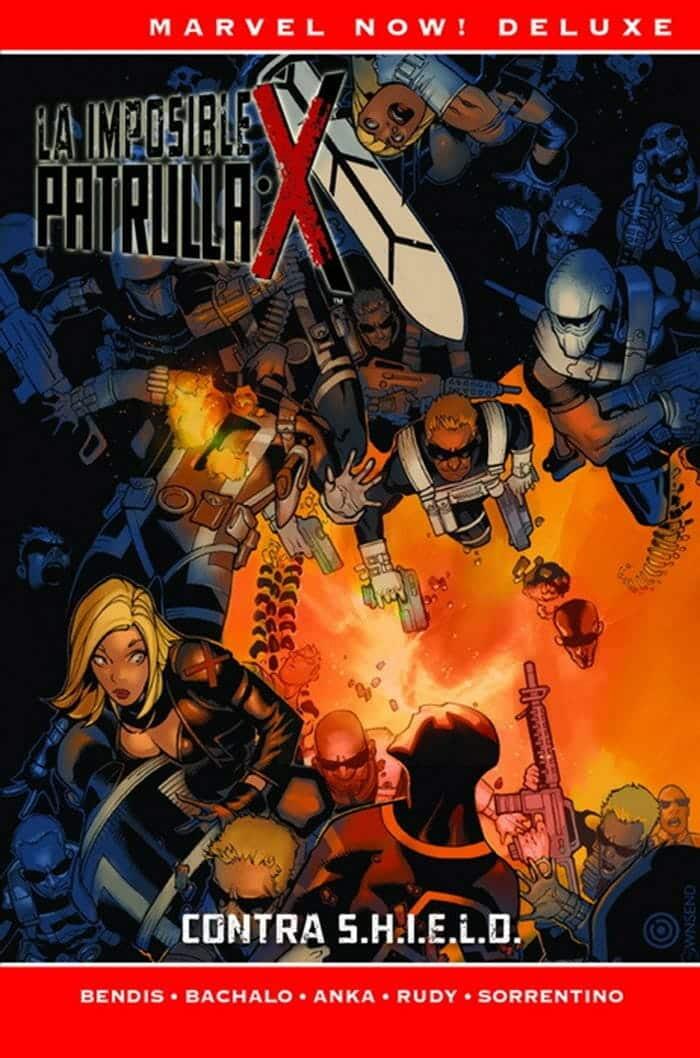 La Imposible Patrulla-X: Contra S.H.I.E.L.D. (Marvel - Panini Cómics)