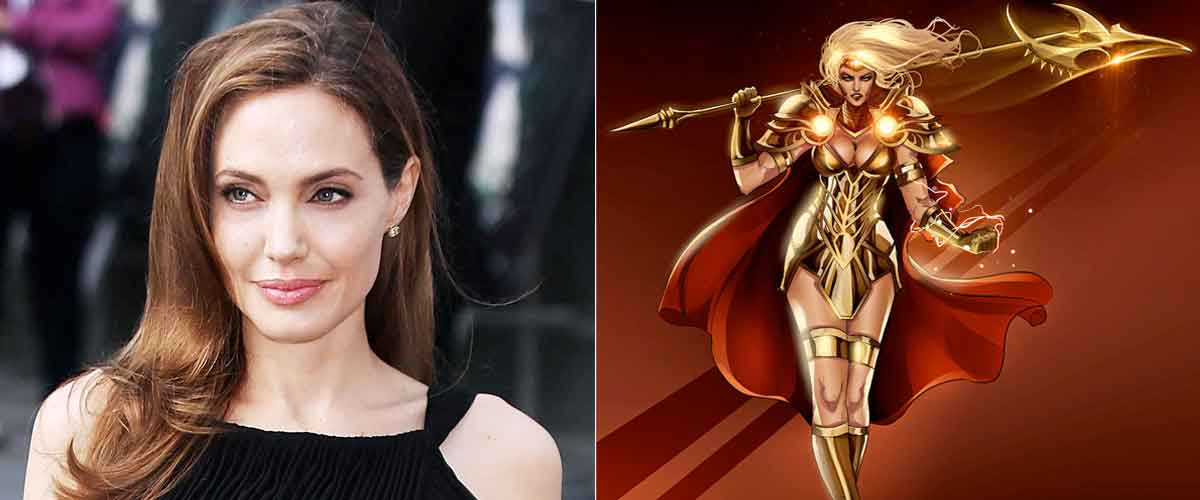 Angelina Jolie está entrenando duro para Los Eternos de Marvel