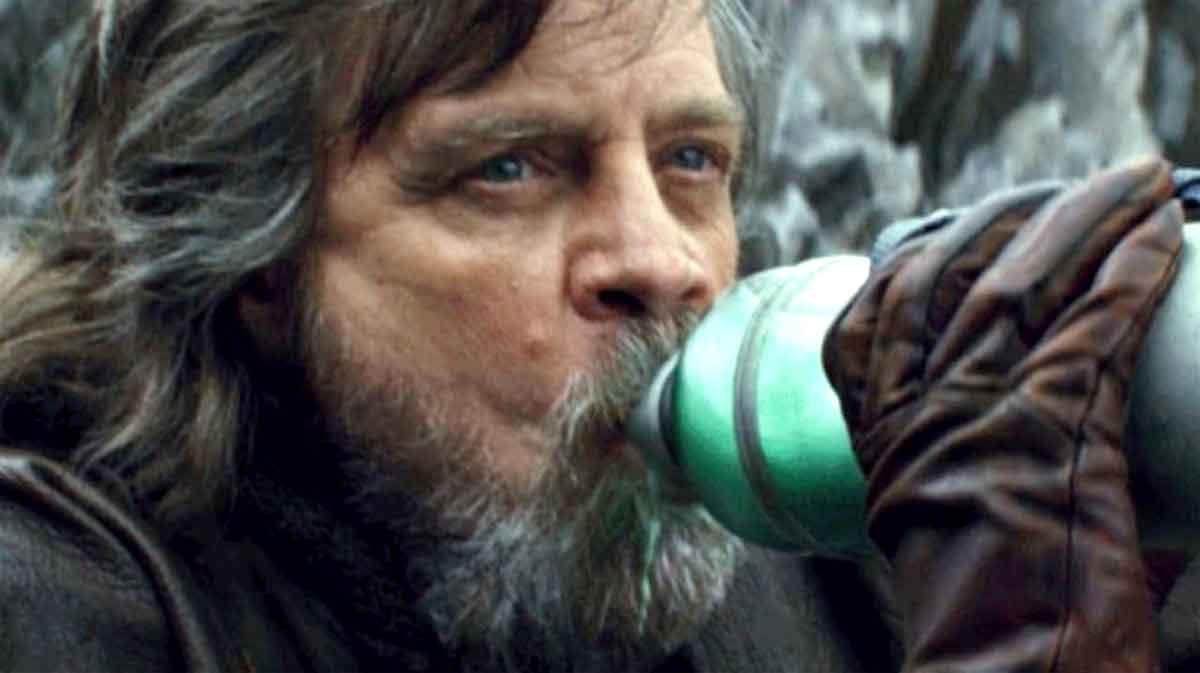 Mark Hamill revela la verdad sobre la leche verde de Los últimos Jedi