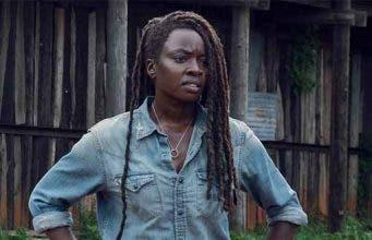 Danai Gurira como Michonne The Walking dead