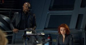 nick fury black widow