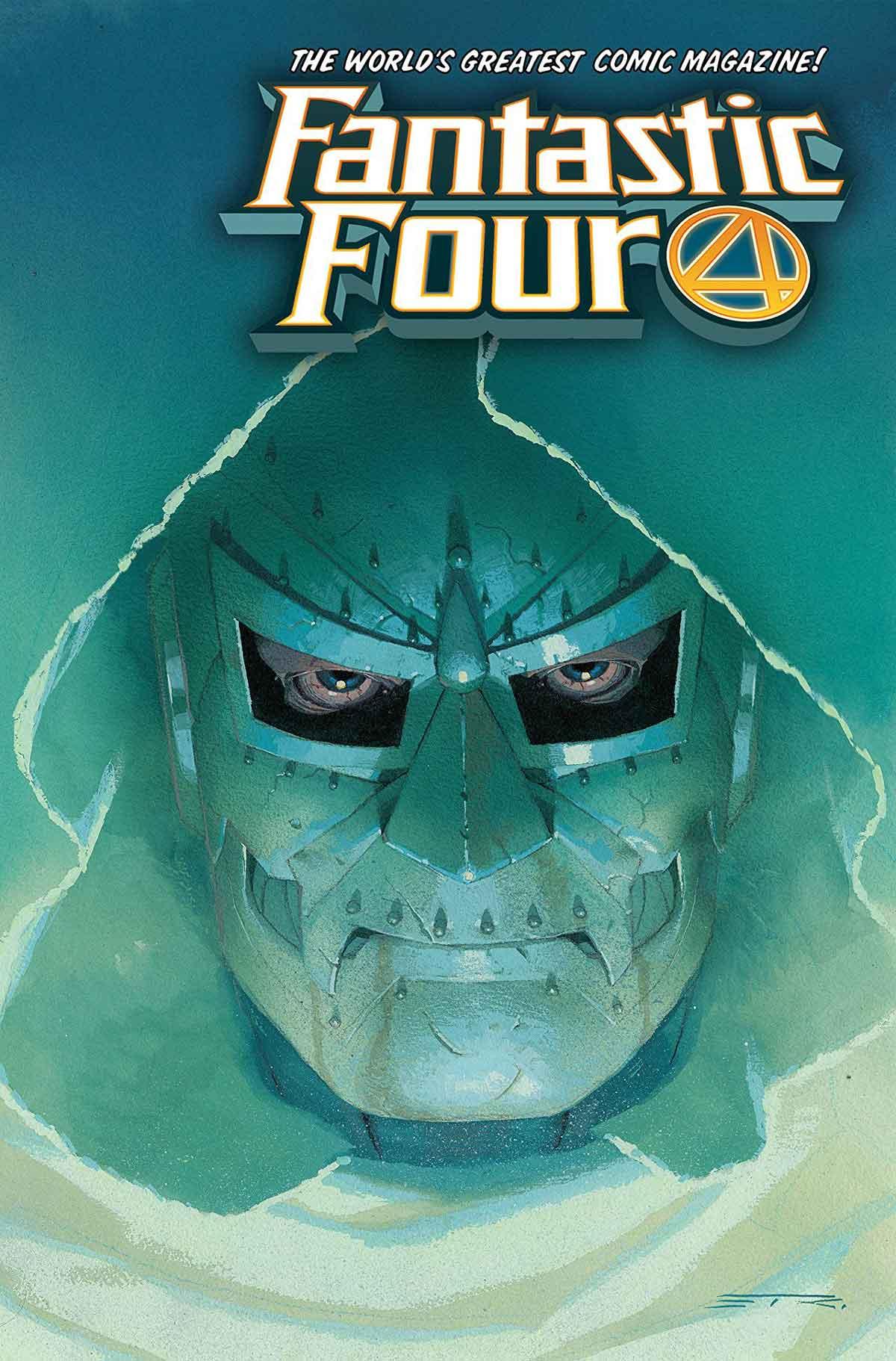Portada de Marvel. Los Cuatro Fantásticos nº 7. Heraldo de Muerte