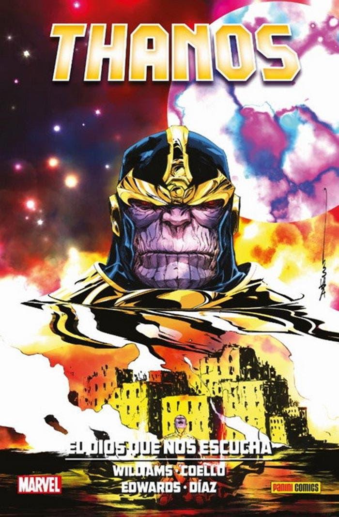 Thanos: El dios que nos escucha (Marvel - Panini Cómics)
