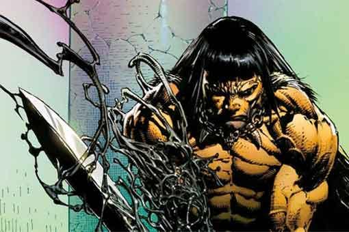¿Por qué Conan tiene una espada poseída por Venom?