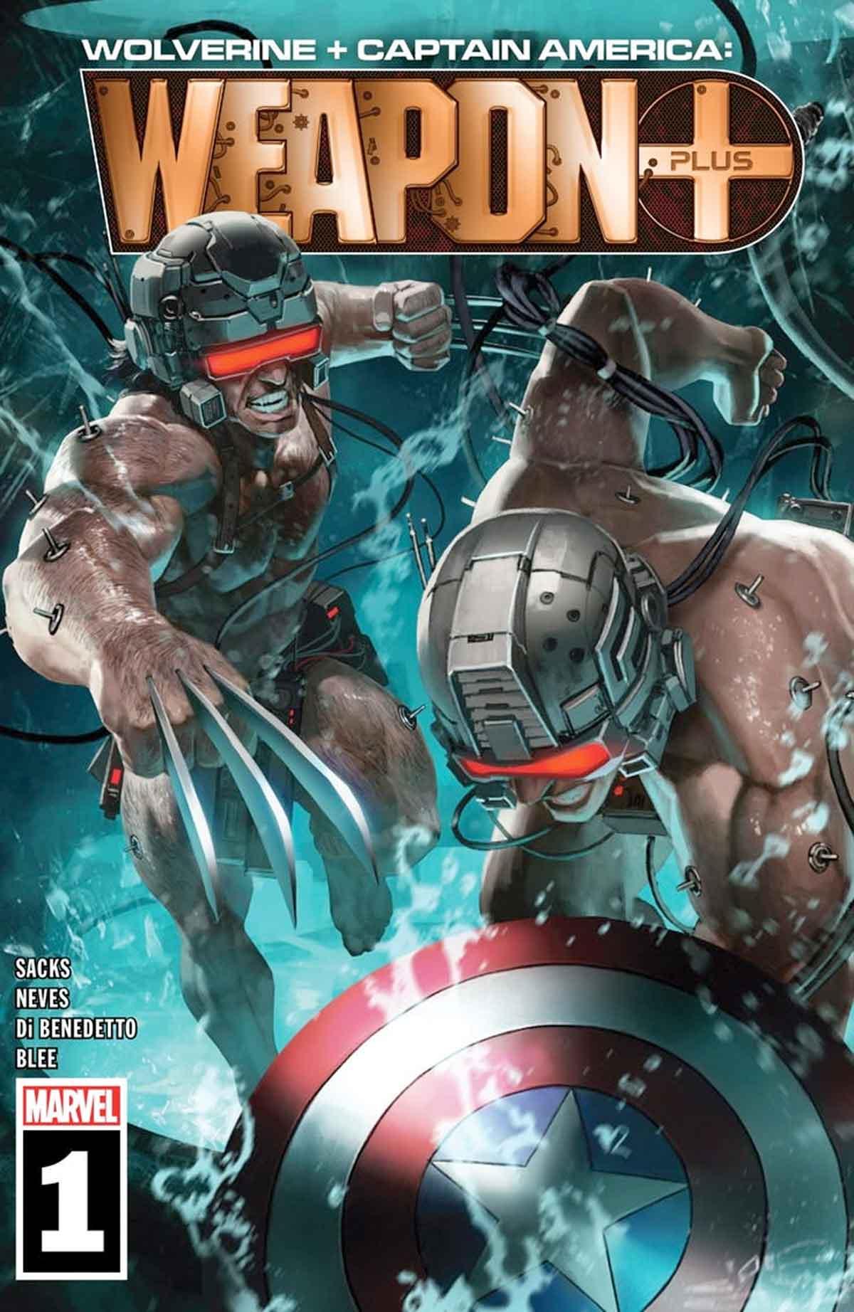 Wolverine fue creado en realidad por Capitán América