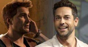"Zachary Levi le quiere ""robar"" el papel de Nathan Drake a Tom Holland"