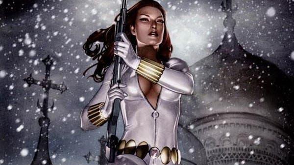Black Widow costume White