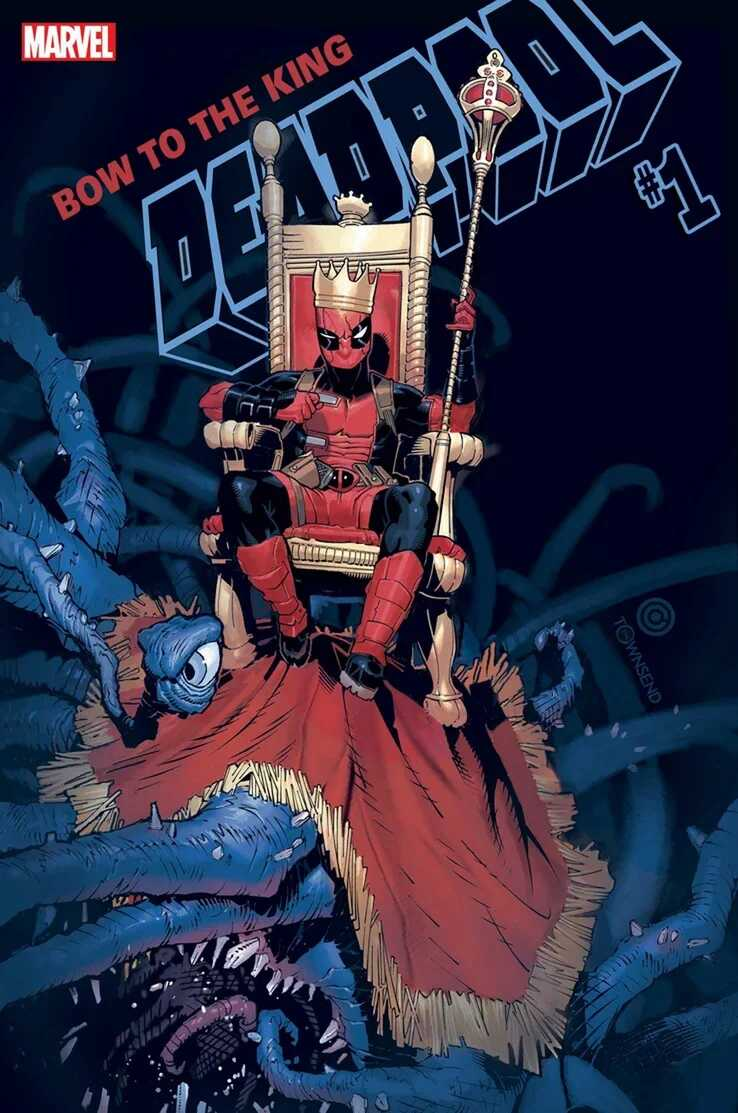 Portada del reboot de Deadpool
