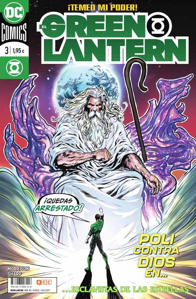 El Green Lantern Nº3
