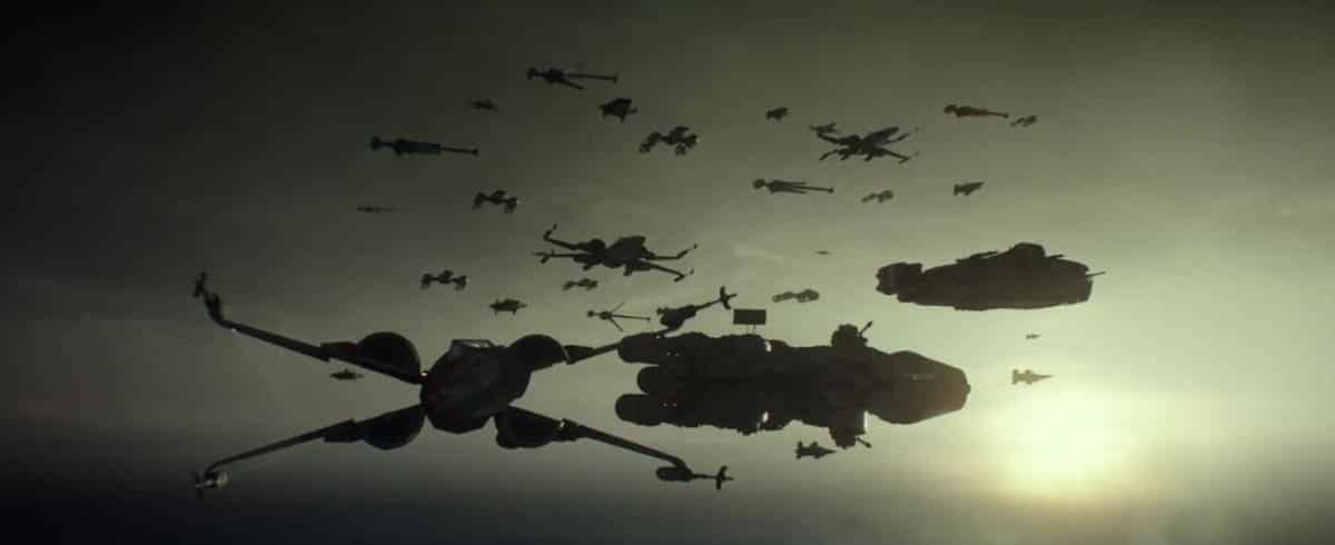 Flota de la resistencia Star Wars