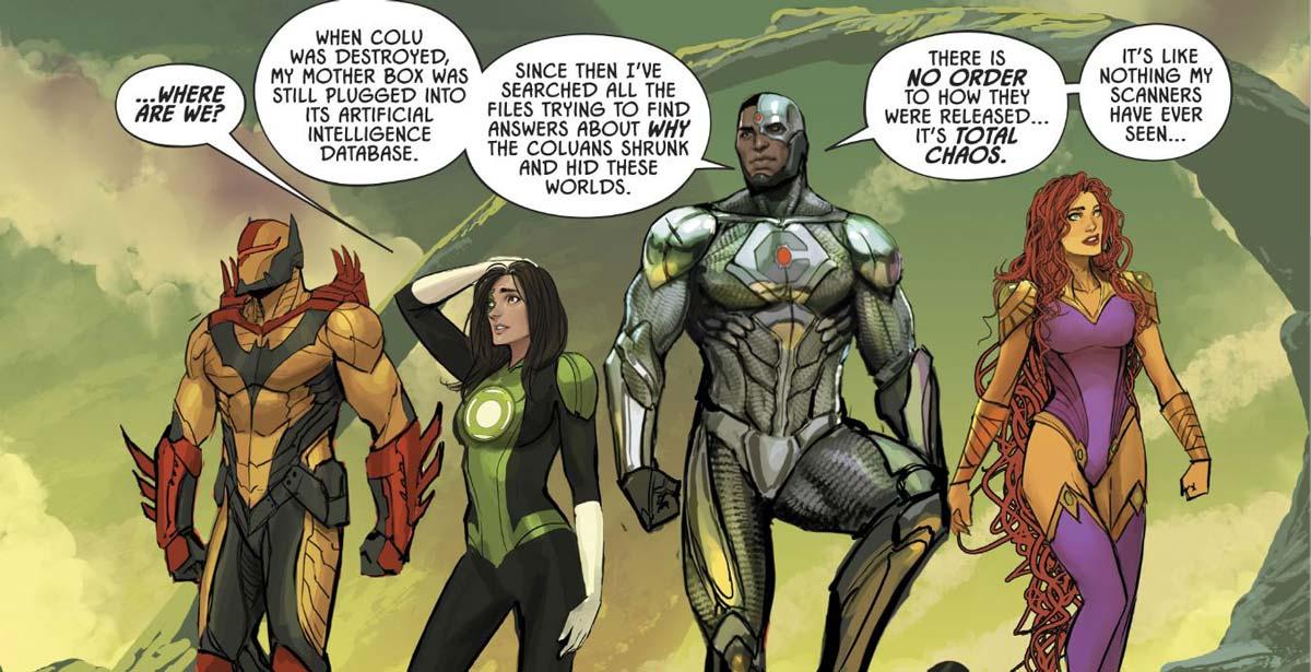 Justice League: Odyssey 1