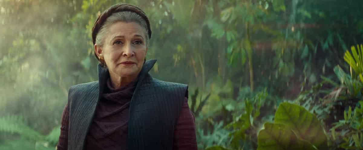 "Leia Organa (Carrie Fisher) iba a ser ""la última Jedi"" en Star Wars 9"