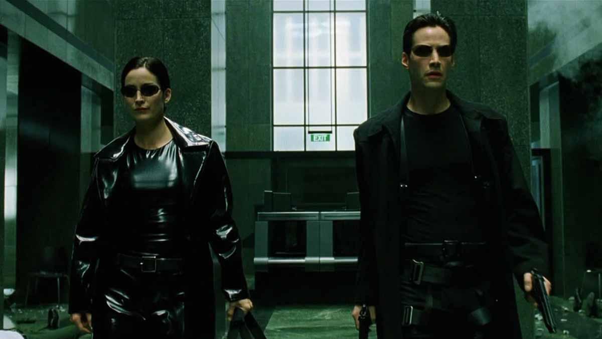 Neo y Trinity Matrix