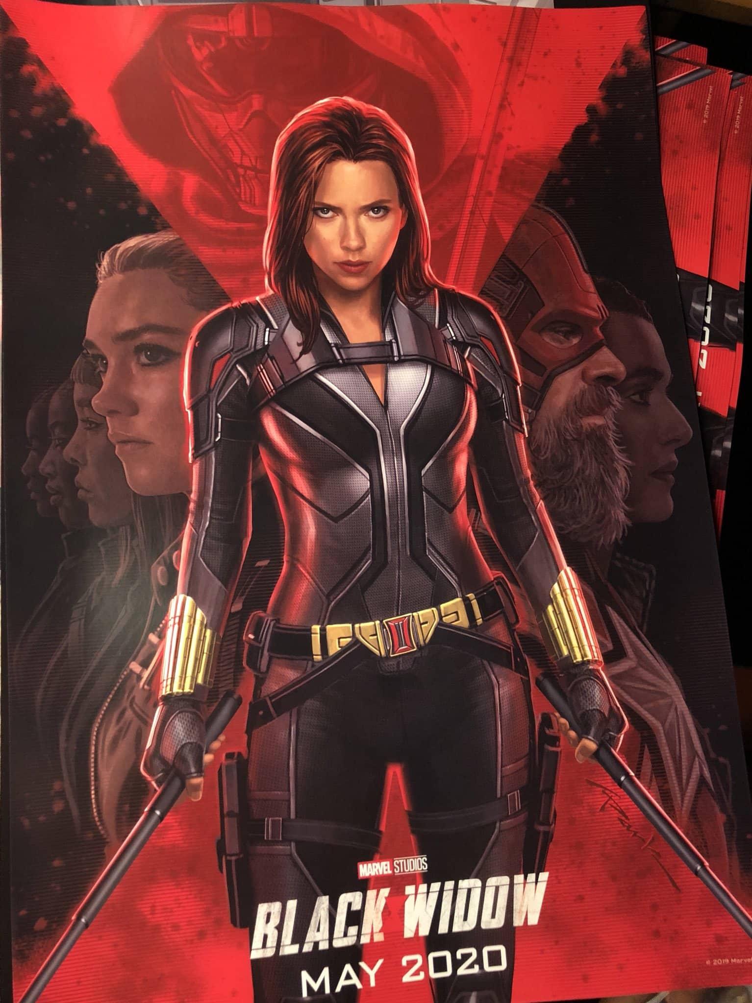 Poster de Marvel Black Widow (Viuda negra) con Scarlett Johansson