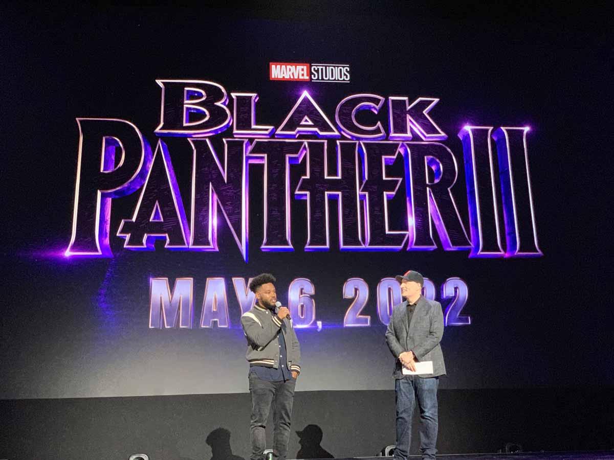 Presentación Black Panther 2 D23