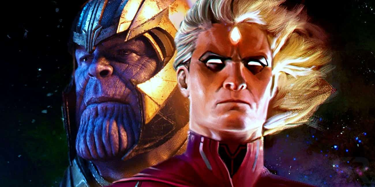 Vengadores: Endgame. Adam Warlock