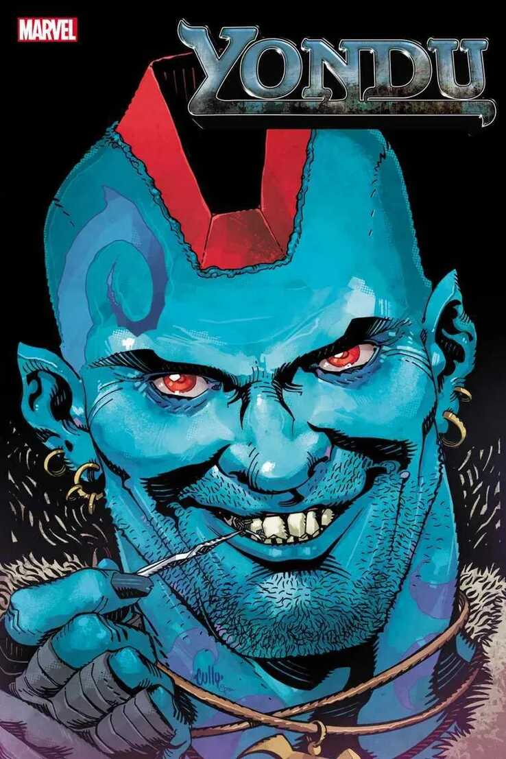 Yondu Marvel Comic Cover