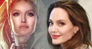 Impactante Fan Art de Angelina Jolie como Thena en Los Eternos