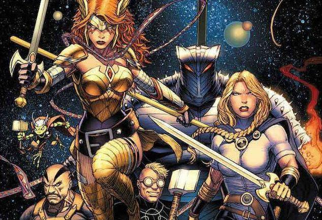 Asgardianos de la Galaxia: La Armada del Infinito (Marvel - Panini Cómics)