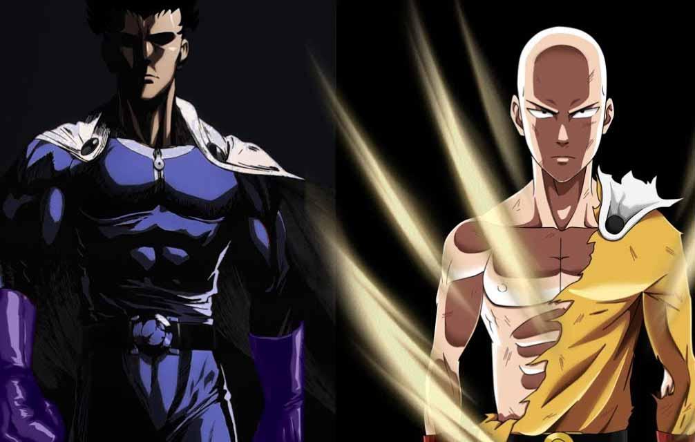 blast y Saitama relación en one punch man