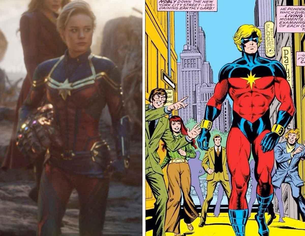 Vengadores: Endgame tiene una referencia a Capitán Marvel (Mar-Vell)