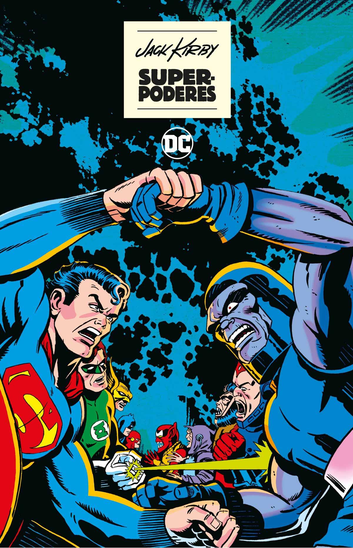 cubierta superpoderes de Jack Kirby