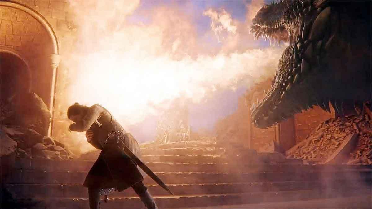Motivo por el que Drogon quemó el Trono de Hierro y no mató a Jon Nieve