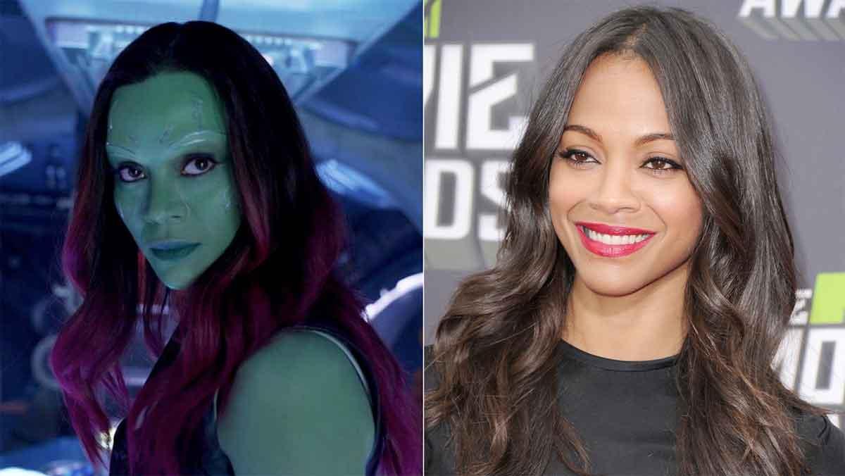 Gamora Maquillaje