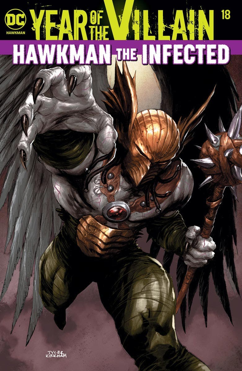 hawkman infected