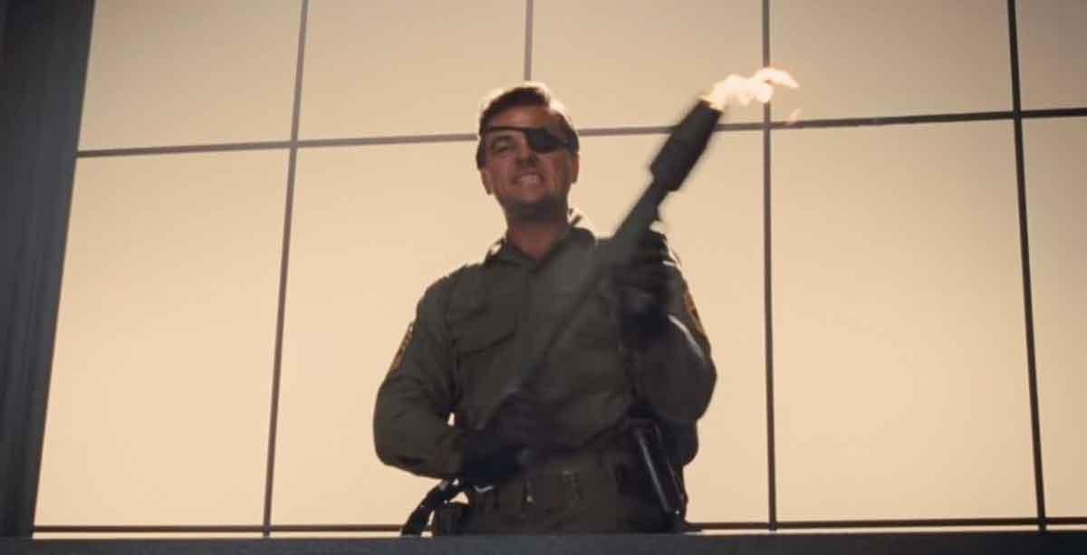 Leonardo DiCaprio tuvo miedo del lanzallamas en la película de Tarantino