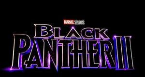 Logo Marvel Black Panther 2