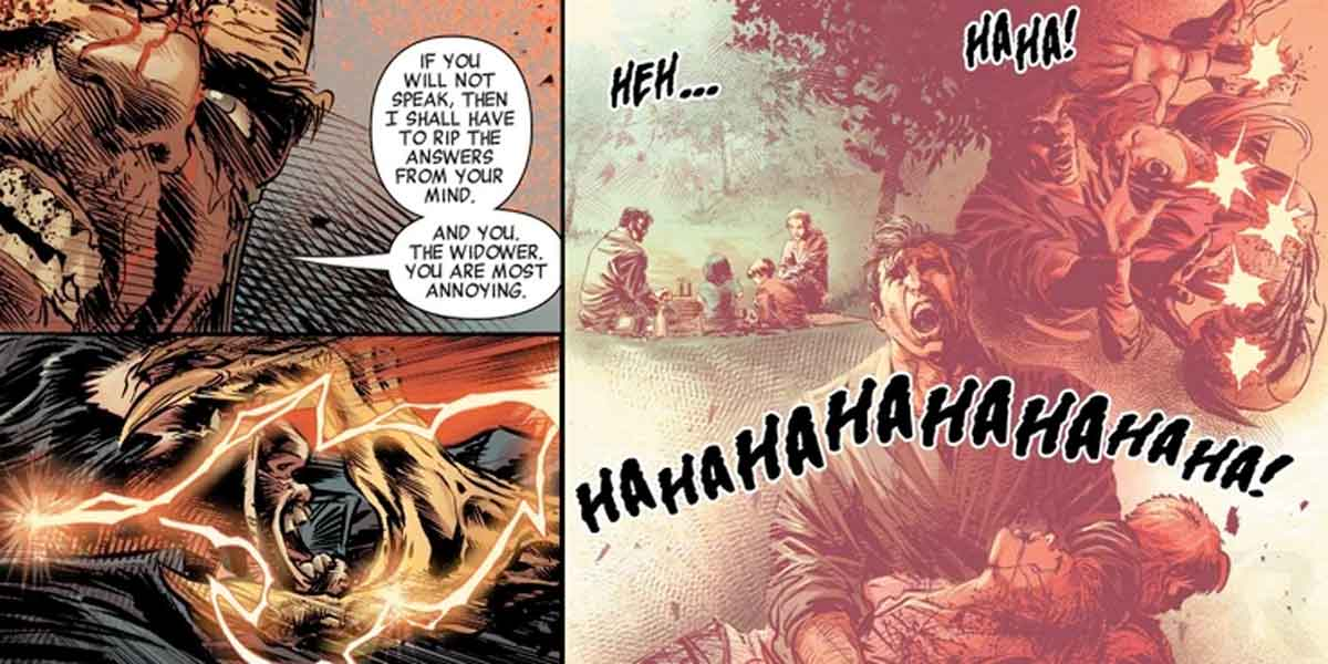 Marvel hace el origen de Punisher todavía más perturbador