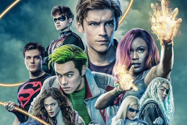 poster titans temporada 2