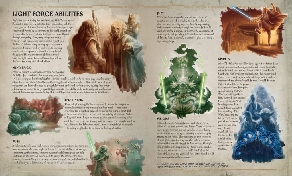 secrets of the jedi force abilities
