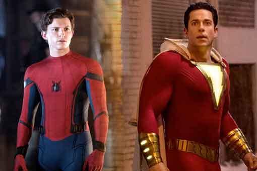 Eliminaron una escena de Spider-Man que se parecía a otra de Shazam